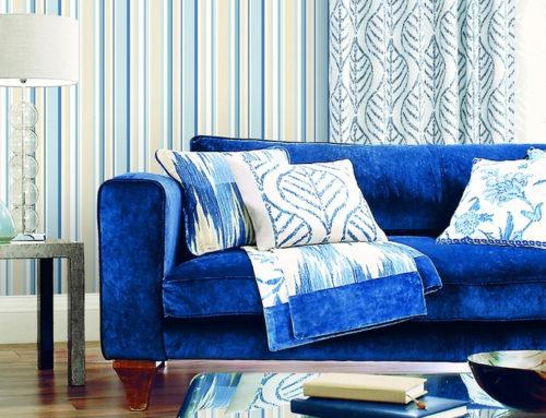 Dar un nuevo aire a la casa con colores y rayas